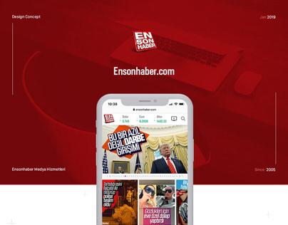 Ensonhaber.com, 2019 New Design