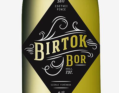 Birtok Bor hrsz. 737.
