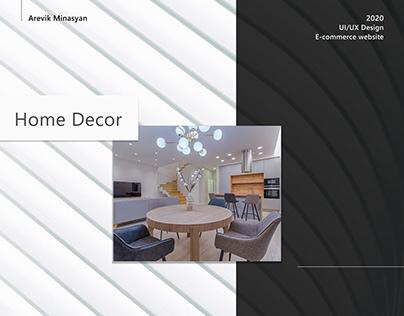 Home Decor UI/UX Design