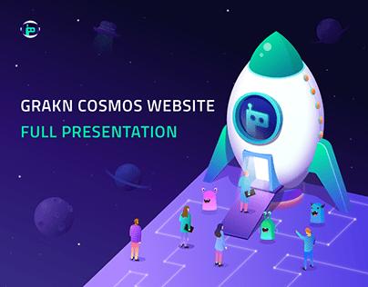 Grakn Cosmos Website Presentation