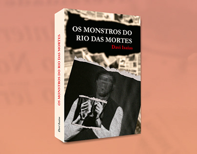 "Capa do livro ""Os Monstros do Rio das Mortes"""