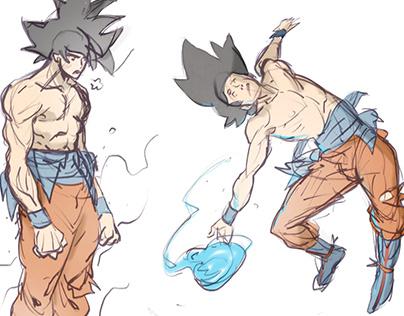 Goku Sketches
