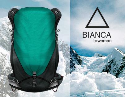 BIANCA | Female backpack