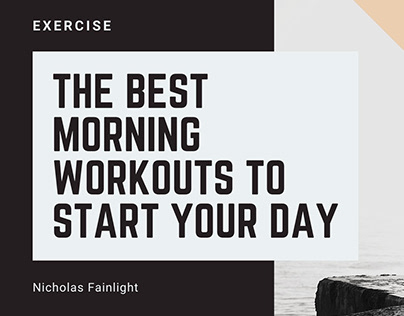 The Best Morning Workouts to Start Your Day