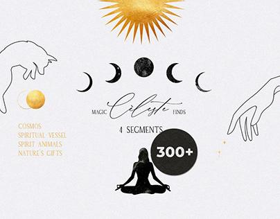 CELESTE spiritual mystic magic kit