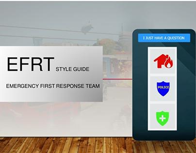 Concept App Design - EFRT