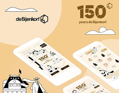 De Bijenkorf Interactive Campaign H5