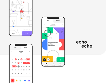 Echo Echo - A Visual Journal
