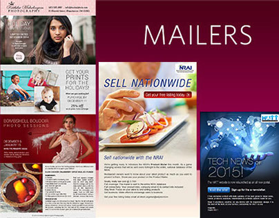 Emailers & Newsletters
