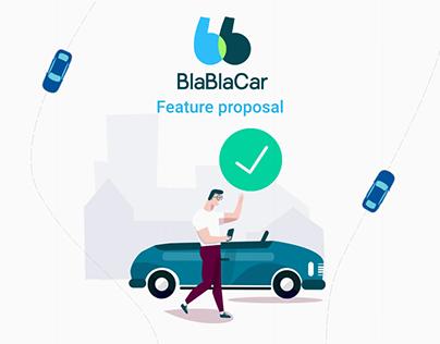 BlaBlaCar new feature proposal