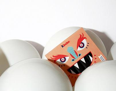 Kinder package redesign