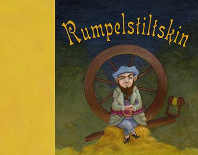 Rumpelstiltskin Book Cover Spread