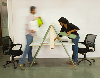 Murph- Workstation Design for co-working spaces