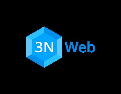 3NWeb Logo, Website and App Design
