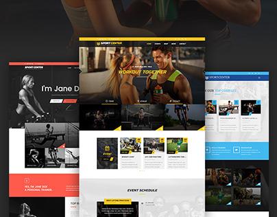 Sport Center - Multipurpose Wordpress Theme