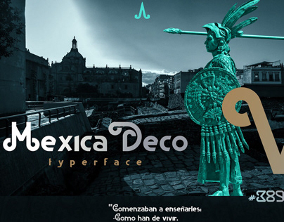 MEXICA DECO TYPERFACE
