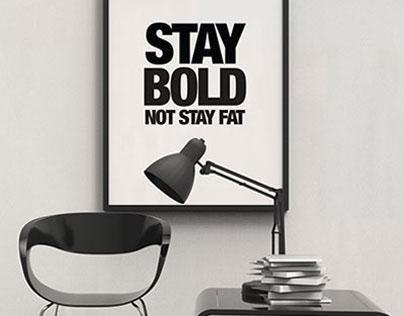 Modern Contemporary Poster Frame