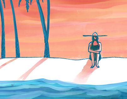Isolation - Created in Adobe Fresco