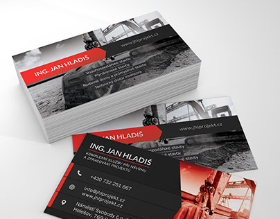 :: Jan Hladiš / Projektant (business card)