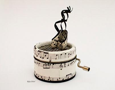 MUSIC BOX - DANCE AWAY - PAPER ART