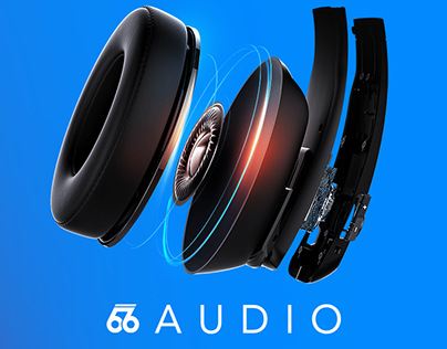 66AUDIO Site & Revolution Product Page Design