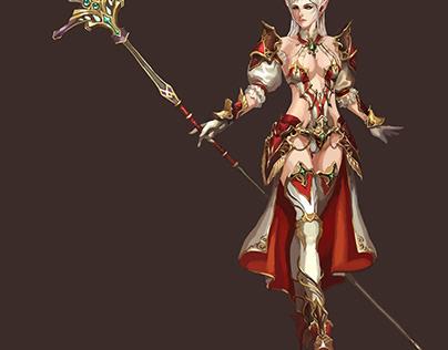 Character Concept ArtRepaint