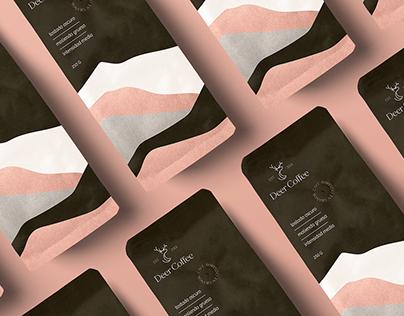 Deer Coffee - Logo & Packaging