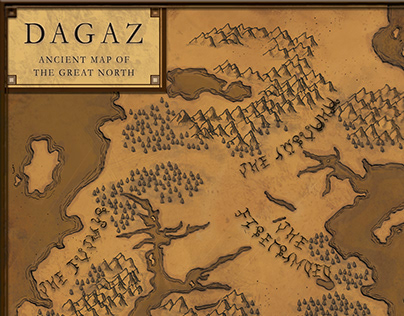 Dagaz - Ancient Map of the Great North