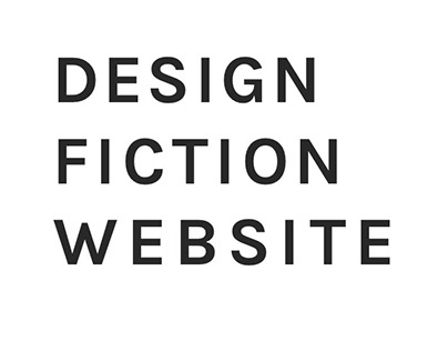 Design Fiction Website