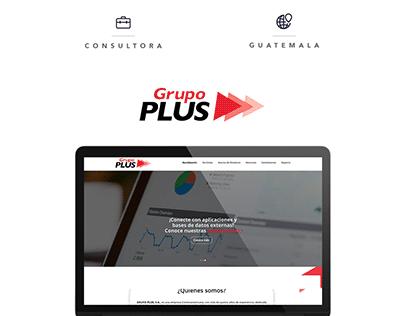 Grupo Plus - Web Design