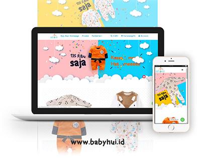 Baby Hui Online Store Website
