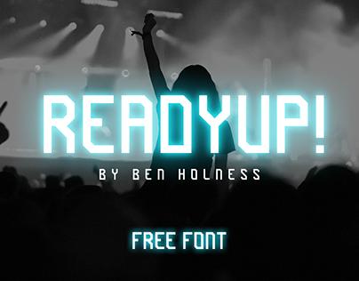 ReadyUp! - FREE FONT