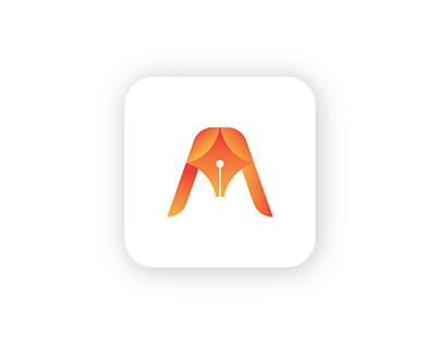 Pen | Logo | Letter A logo | Branding Identity