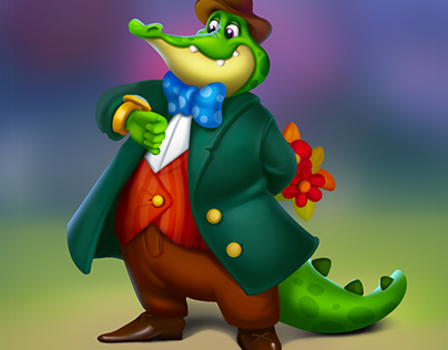 Mr Crocodile