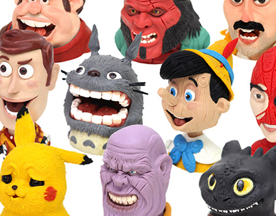 Characters / Plasticine