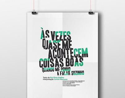 Às vezes... Poster