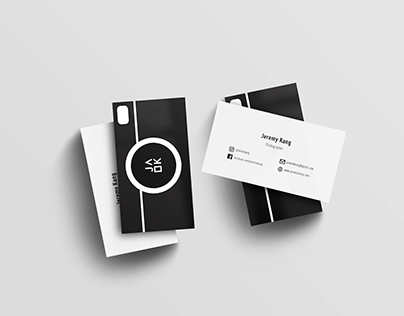 Personal Business Cards (B&W)