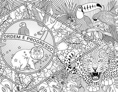 Ilustrações - Desenho digital e feito à mão