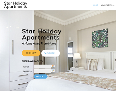 Website Copy | Star Holiday Apartments