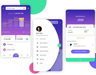 Business Dashboard App