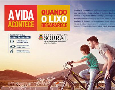 Campanha Prefeitura de Sobral - Limpeza Urbana