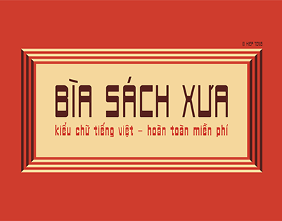 Biasachxua - Free Typeface