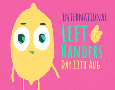 International Left Handers Day!