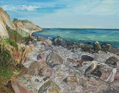 Aeroe  / coastal landscape