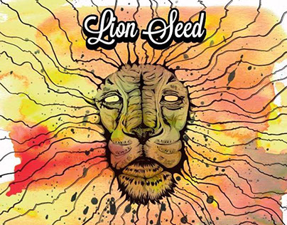 Lion Seed Poster Design