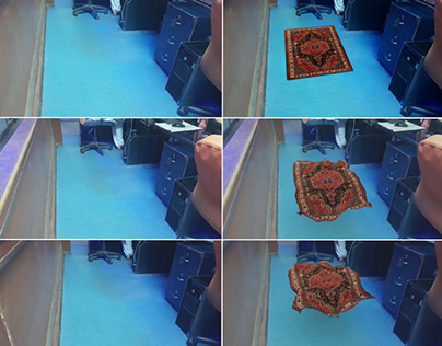 Carpet VFX Experiment