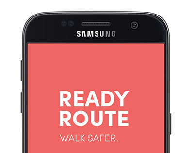 READY ROUTE mobile app for students