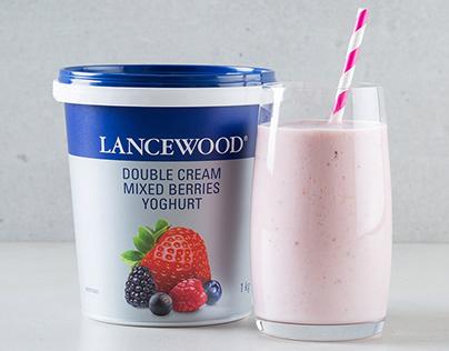 Lancewood Double Cream Yoghurt Packaging