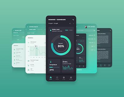 BIOM-WEB APP UI/UX Design