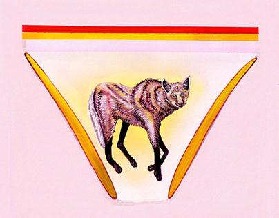 Brazilian Wolf Panties